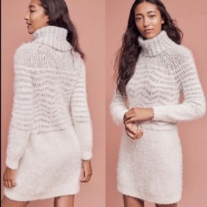 Sleeping On Snow Shelby Eyelash Sweater Dress